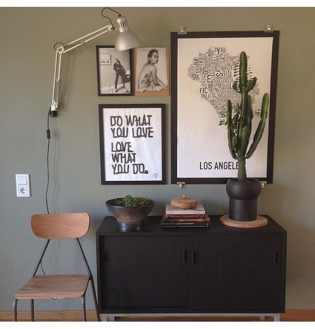 Green harmony. Home Of Susanna Säfsund, Raw Interior. @susanna_raw_interior