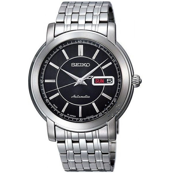 SEIKO Automatic Stainless Steel Bracelet  239€  http://www.oroloi.gr/product_info.php?products_id=30374