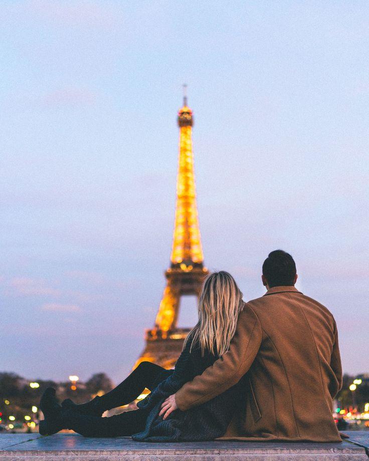 The eiffel tower at sunset - romantic paris activities - Complete Paris Travel Guide