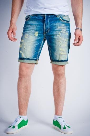 Как обрезать мужские джинсы на шорты