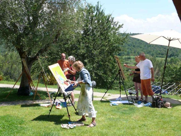 Corso di disegno e pittura !! #disegno #pittura #ariaaperta #colori #pennelli #quantisiamo #soloqui #insieme #sorrisi #imparare #gruppo #corsi #formazione