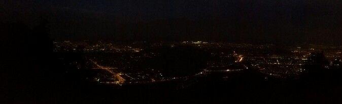 Night view to Santiago