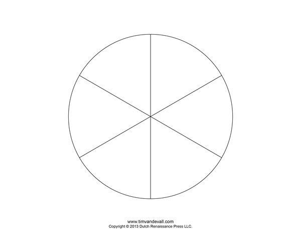 Blank Pie Chart Templates | Make A Pie Chart  Pie Chart Templates