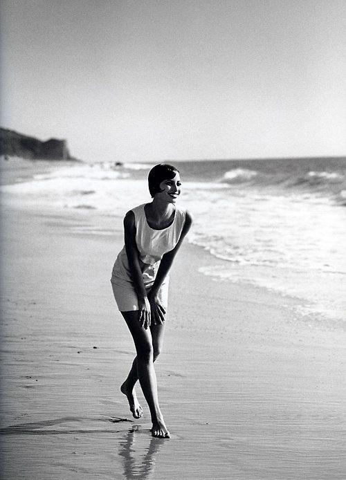 Christy Turlington by Peter Lindbergh