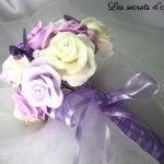 lessecretsdalena Bouquet éternel La mariée lilas