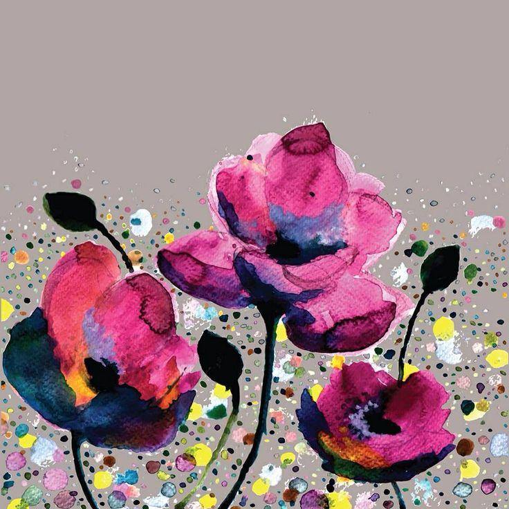 Poppies by Michelle Nilson http://society6.com/michellenilson/Poppies-CJi_Print#1=45
