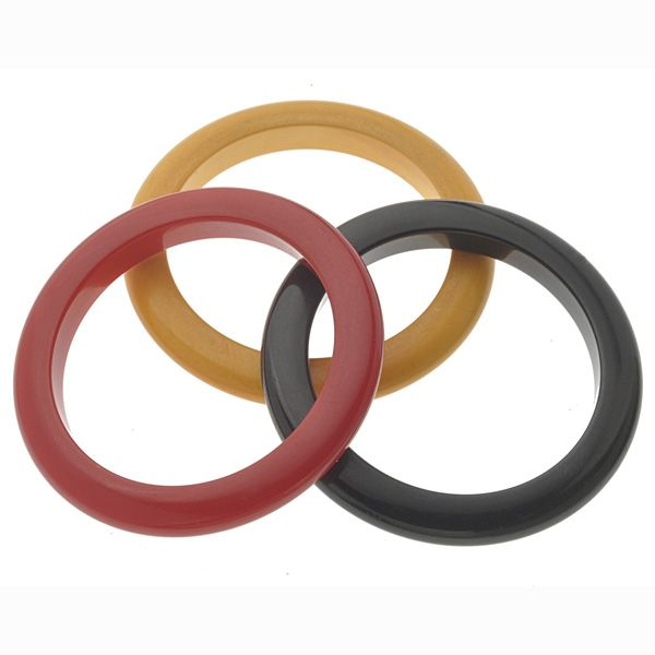 Bakelite bangles! Fun and Funky! Feel the Joy!
