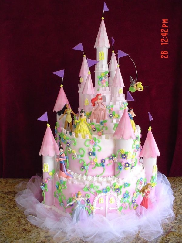 now that's a princess cake!