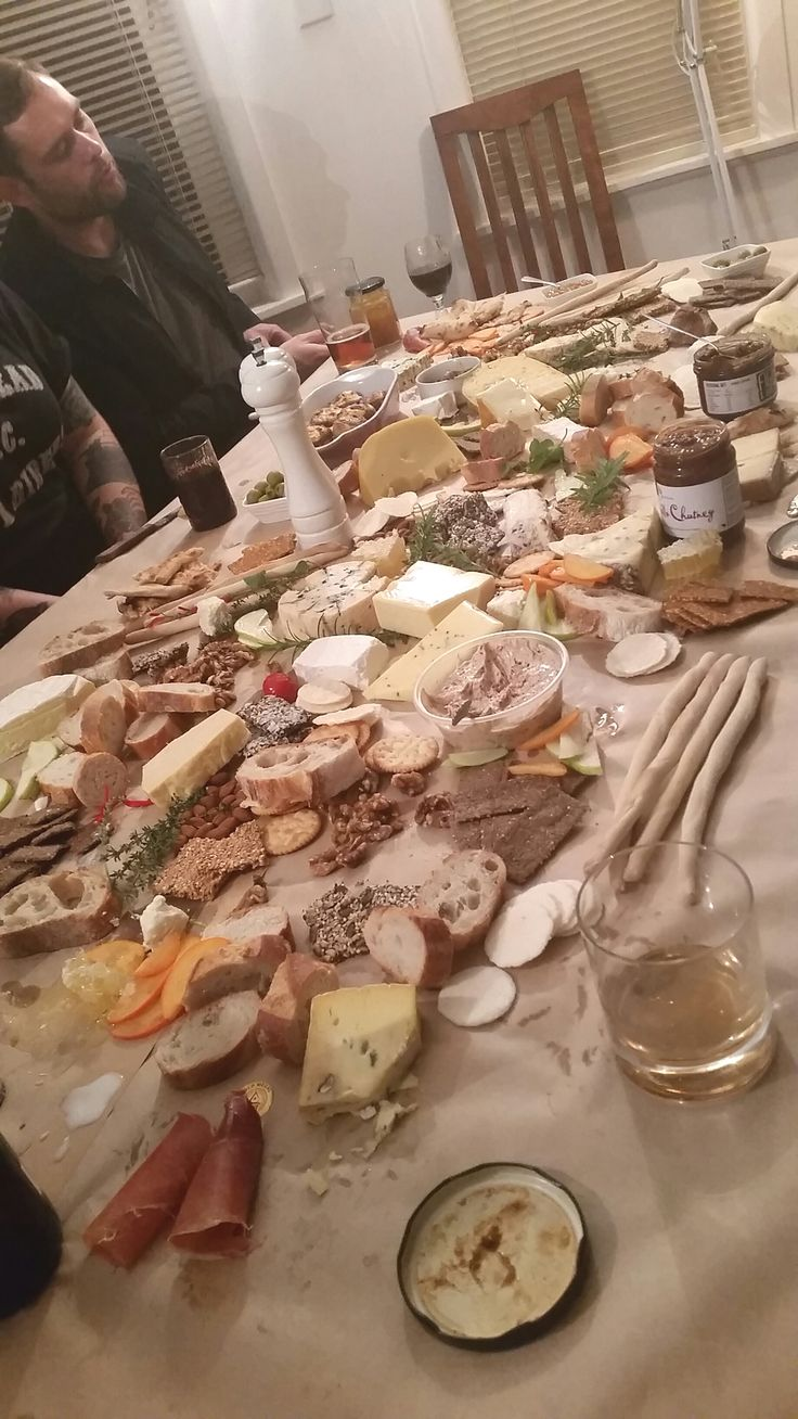 Now that is a cheese board