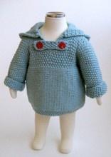 Zip Hoodie Knitting Pattern : 78 best images about Ropa tejida para munecas on Pinterest ...