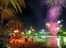Fire works over south bank parklands - Brisbane - Wikipedia, the free encyclopedia