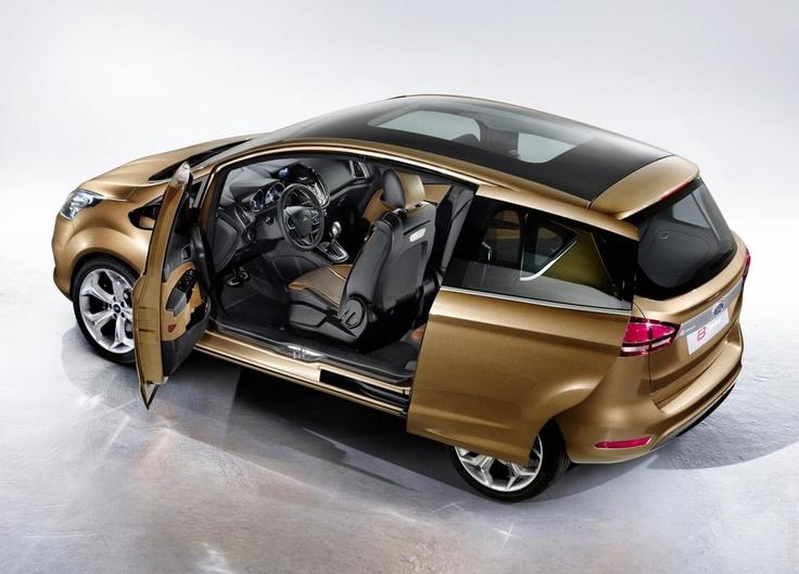2011 Ford B MAX Concept
