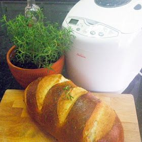 Inspired By eRecipeCards: Bread Machine 10 Minute Rosemary Bread