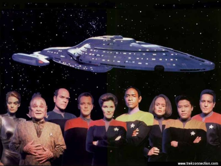 Star Trek: Voyager. The best in the franchise IMO