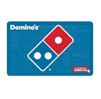 $60 Domino's Pizza Gift Card for only $50   Buy a $60 Domino's Pizza Gift Card for only $50 – Fast Email Delivery US Only. Email Delivery. Please allow up to 24 hours.
