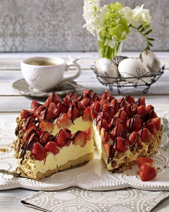 Unser geliebtes Rezept für Heavenly Strawberry Pie und mehr als 55.000 mehr …   – Backen