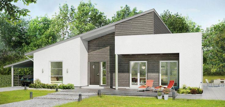 72 best self build kit wooden frame houses images on for Self build kit home designs