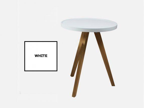 Stolik Kawowy Luxury L biały