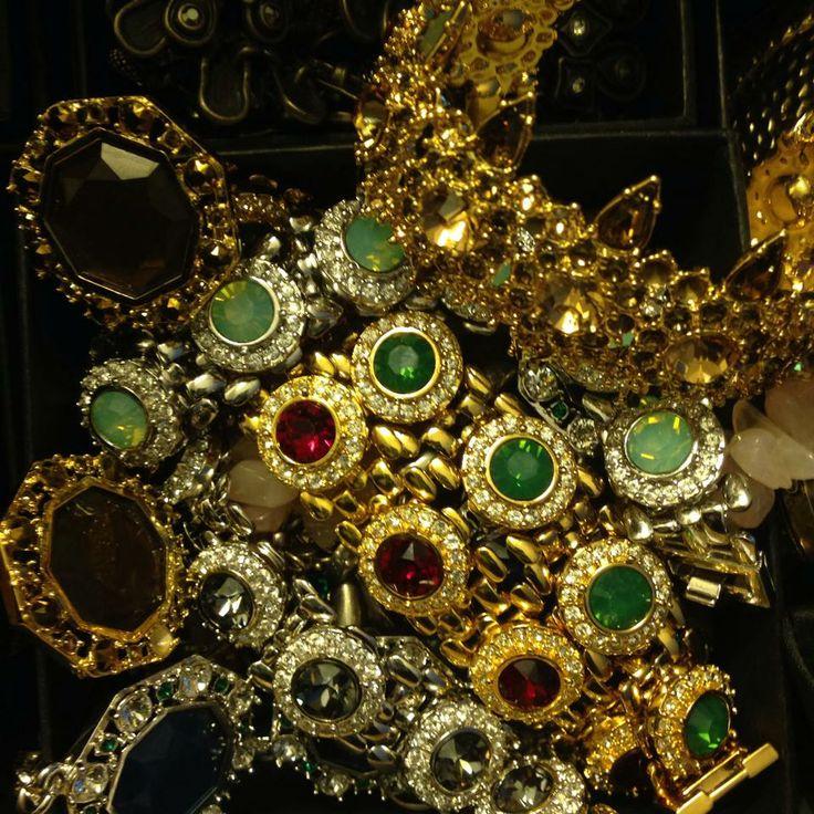 Lolu Rhoda jewellery pile