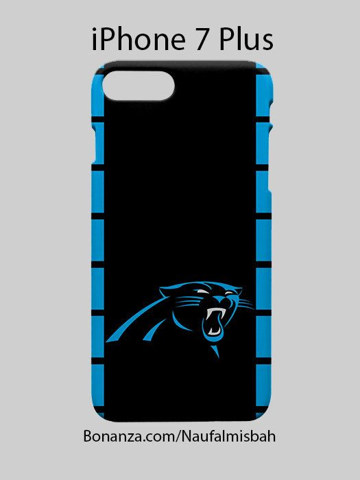 Carolina Panthers iPhone 7 PLUS Case Cover Wrap Around