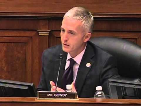 Rep. Gowdy to the families of Benghazi victims 'the jury has not forgotten'   Tgowdysc