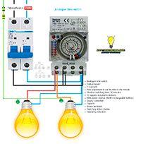 Esquemas eléctricos: Analogue time switch