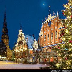 Latvia, Old Riga. House Blackheads (Melngalvju nams)   by Latvia (www.visitlatvia.lv, tourism website)