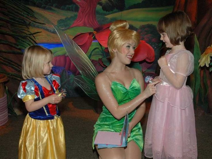 """If you get to the park really early, there are some special, secret things for kids to do. For instance, the first person to enter Tinkerbell's shop at the park gets to """"wake up Tinkerbell."""" --- WHATTTT??? yes please"""