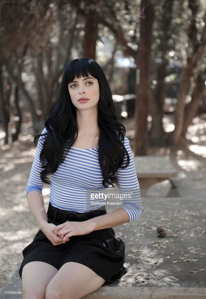 Actress Krysten Ritter photographed for WWD on October 29, 2008 in Los Angeles, California.
