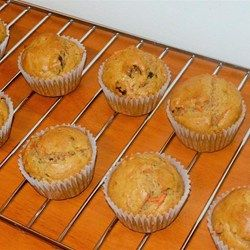 Fluffy Carrot Muffins with Cream Cheese Frosting - Allrecipes.com