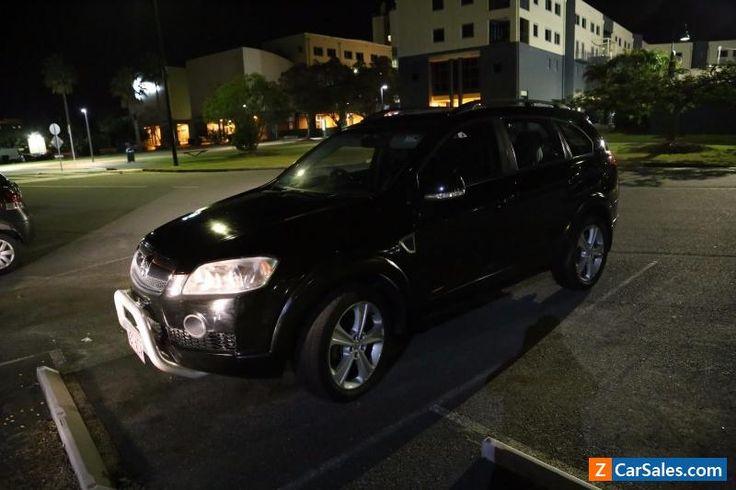 2007 Holden Captiva LX Black Automatic 5sp SUV/family wagon with 5.5 months Rego #holden #captiva #forsale #australia