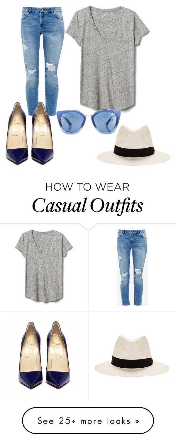 """Casual Chic"" by yaz7000 on Polyvore featuring Gap, Ted Baker, Prada and rag & bone"