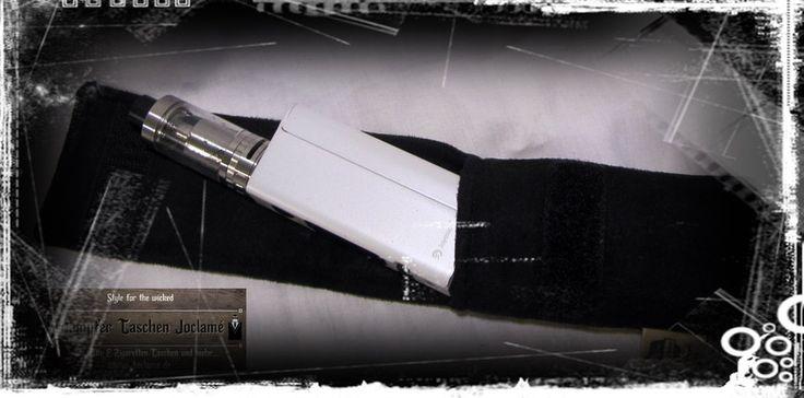 Tabakbeutel - E-Zigaretten Etui, Gürteltasche,Holster, Dampfer - ein Designerstück von Dampfer-Taschen-Joclame bei DaWanda