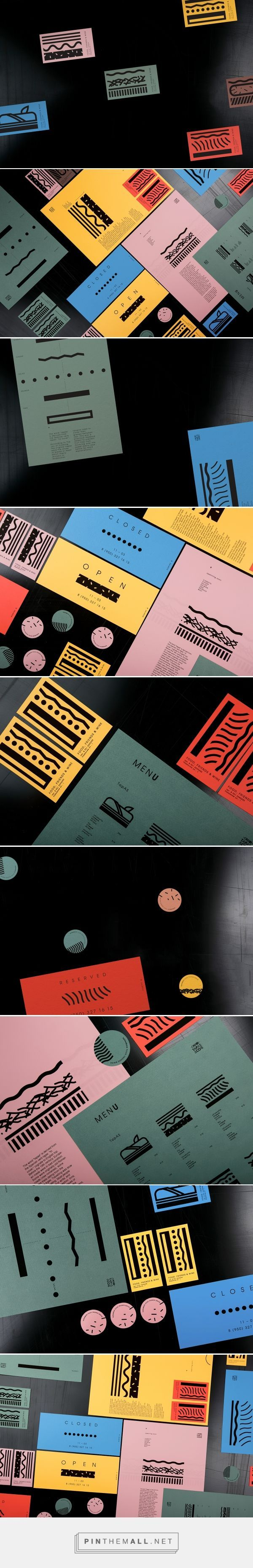 Tapas & Co. Restaurant Branding and Menu Design by Masha Portnova | Fivestar Branding Agency – Design and Branding Agency & Curated Inspiration Gallery