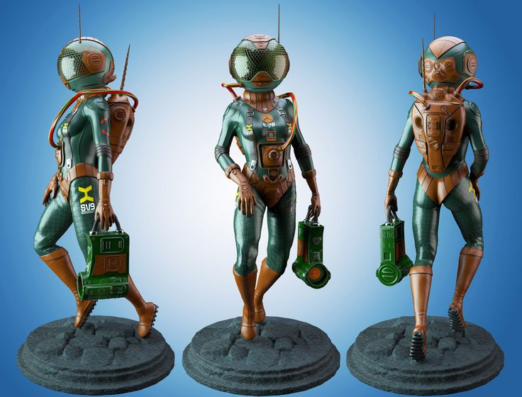 #Cosmonaut #3d #keyshot #space suit #digital 3d