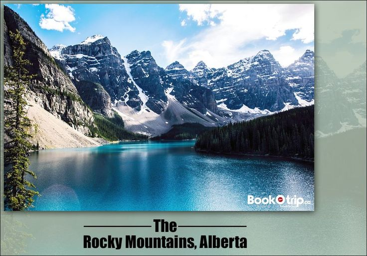 In #Rocky Mountains check out those alpine meadows, turquoise lakes, waterfalls and wildlife and many more. Call to book : (888) 379 1003 BookOtrip.ca #travelforless
