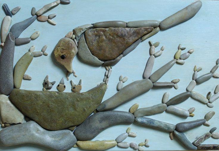 Doğal Taşları Döşereyerek Hayvan Figürleri Yapmak (13) - Doğal taşlar, doğal taş evler ve doğal taş ocakları