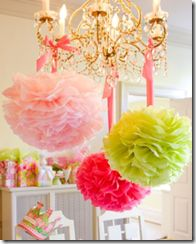 Bolas para decoração de festas