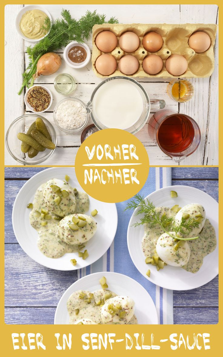Lecker! Senfeier sind ein echter Klassiker. http://eatsmarter.de/rezepte/eier-senf-dill-sauce