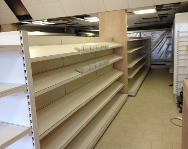 Experts in shop fitting & shop shelving - planning and carrying out a store refit