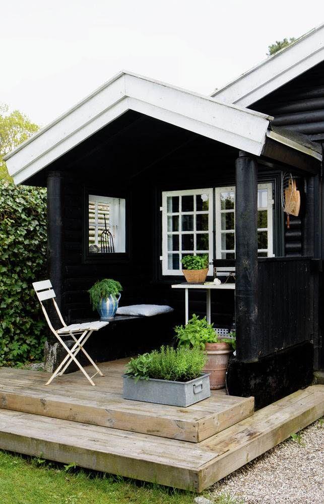 44 best Black Houses images on Pinterest Black house Exterior