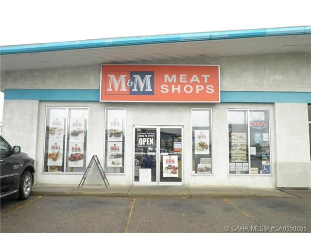 Going concern business located in the City centre of Lacombe. M & M Meat Shop delivers a high quality product at a reasonable price targeted for the local community. The present owners have operated the business for 8 years and comment on the excellent support & training they receive from Head Office. Good business opportunity with steady cash flow and the potential to grow the sales. Located in a highly visible high traffic area along Hwy 2A.