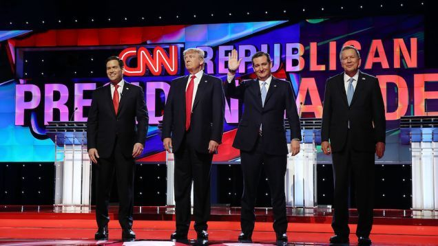 A few days ago, Jeb Bush reportedly met with Ted Cruz, John Kasich and Marco Rubio in Miami. Why would three of the final four Republican candidates agree to a summit with the campaign's giant-ass loser? Well, Erick Erickson has a pretty good theory: