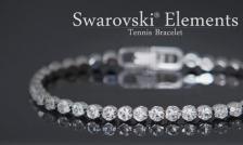 $19 for Swarovski Elements Shamballa Earrings OR $21 for Swarovski Elements Tennis Bracelet