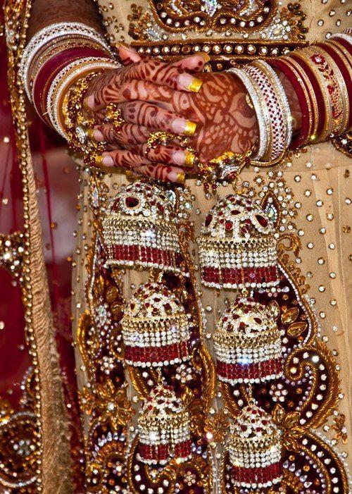 Traditional Indian wedding bangles