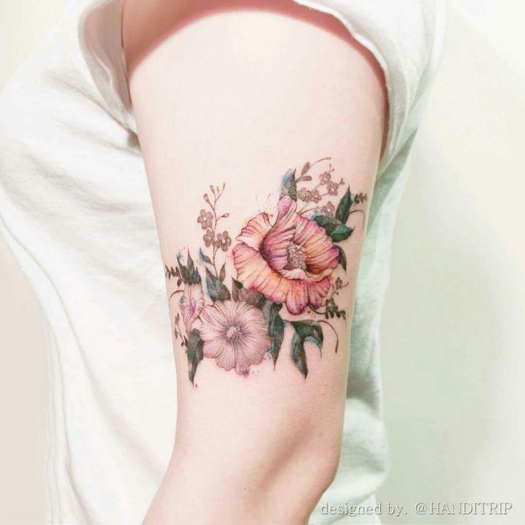 flower lines.