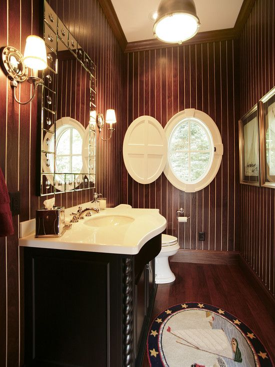 22 Best Nautical Bath Images On Pinterest Bathroom