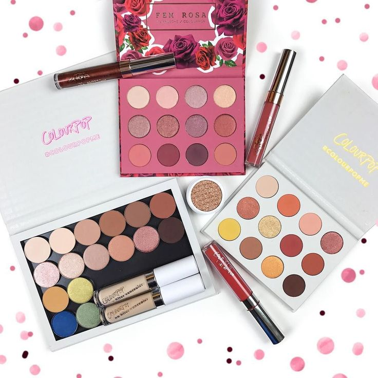 The latest additions to my @colourpopcosmetics fam! I remember living in Peru back in 2014 watching @kathleenlights gushing over ColourPop and wishing I could get my hands on those products but my real obsession started with their first free international shipping promo almost a year ago. My collection has been growing ever since... What are your must have ColourPop products? _________________ @jordynn.wynn @immbunny @colourpopbosslady @karrueche #makeuphaul #makeup #eyeshadow…