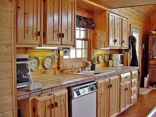 Wood Cabin Kitchen 24 best log cabin kitchens images on pinterest | log cabin