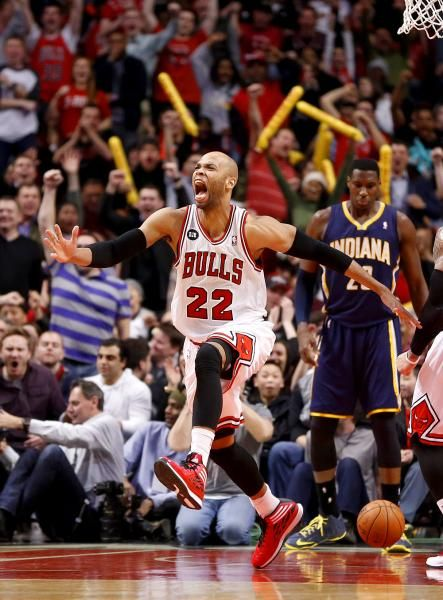 Chicago Bulls forward Taj Gibson I still remember the play he made and this reaction lol